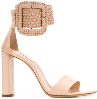 Casadei Statement Ankle Buckle Sandals