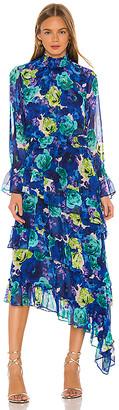 MISA Rania Midi Dress