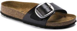 Birkenstock Madrid Big Buckle Licorice Narrow Fit Sandal - 37