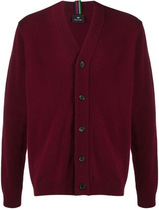 Paul Smith V-neck merino cardigan