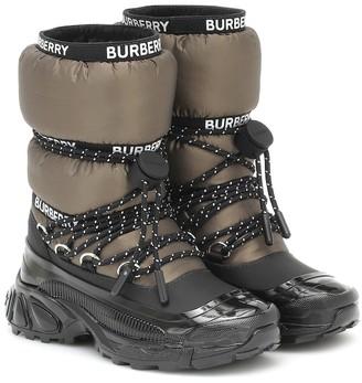 BURBERRY KIDS Snow boots
