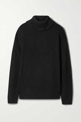 HOLZWEILER Hovin Wool And Cashmere-blend Turtleneck Sweater - Black