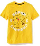 Old Navy Pokémon Pikachu Graphic Tee for Boys