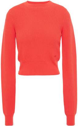Victoria Victoria Beckham Cropped Knitted Sweater