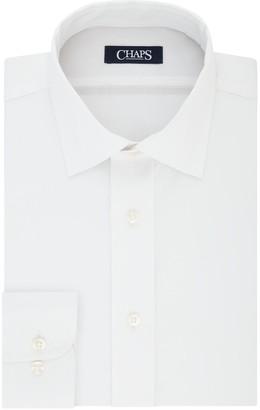Chaps Men's Performance Engineering Comfort Stretch Collar Dress Shirt
