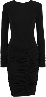 BA&SH Jamy Ruched Stretch-jersey Mini Dress