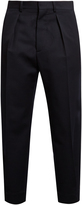 Marni Single-pleat wool-twill trousers