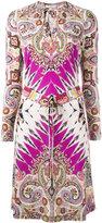 Etro abstract print drawstring dress - women - Viscose - 44
