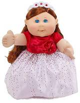 Cabbage Patch Kids Holiday Kid, Brunette with Red Dress