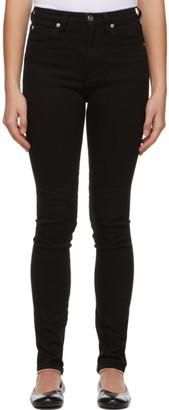 Victoria Victoria Beckham Black Skinny High-Waist LA Jeans