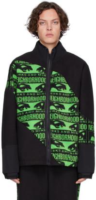 Perks And Mini Black and Green Neighborhood Edition Jacket