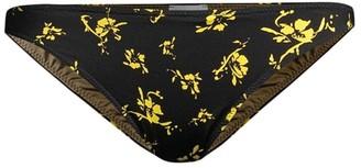 Ganni Recycled Fabric Floral Bikini Bottom