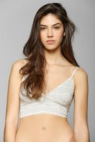 Urban Outfitters Pins And Needles Lace Longline Bra