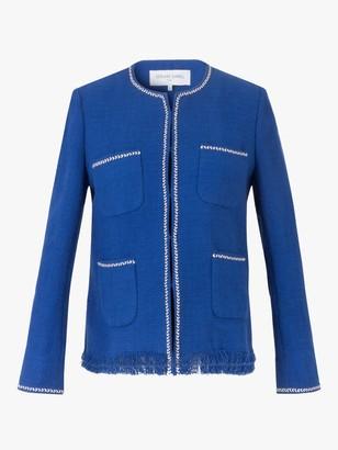 Gerard Darel Alessandra Cotton Jacket, Blue