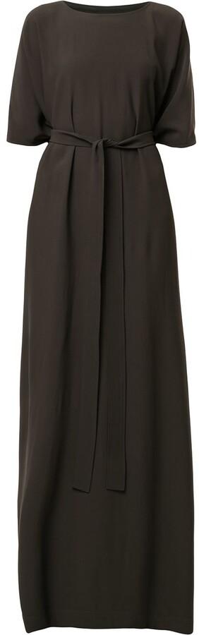 Rick Owens Tie Waist Long Dress