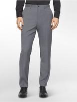 Calvin Klein X Fit Ultra Slim Fit Tonal Plaid Wool Suit Pants