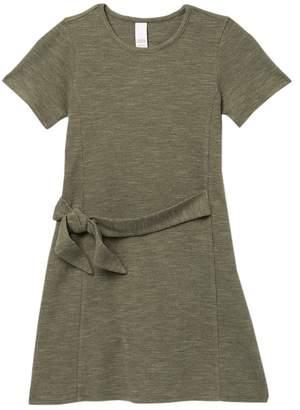 Harper Canyon Tie Waist T-Shirt Dress (Big Girls)