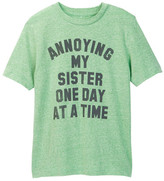 JEM Annoying Sis Statement Tee (Big Boys)