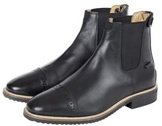 Huntley Equestrian Leather Zipper Paddock Boots ()