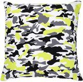 Adolfo Carrara Camouflage Printed Cotton Canvas Pillow