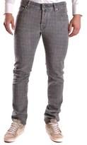 Jacob Cohen Men's Grey Cotton Pants.