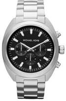 Michael Kors Men's MK8270 Dean Silver Tone Chronograph Watch
