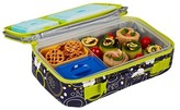 Fit & Fresh Bento Lunch Box Kit with Reusable Ice Packs - Cherry Dots