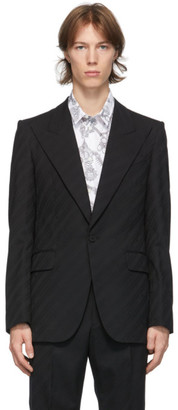 Givenchy Black Classic Fit Blazer