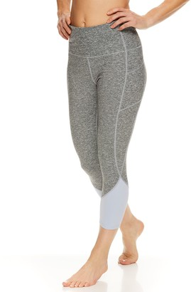 Gaiam Women's Om High-Waisted Femme Colorblock Leggings