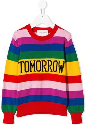Alberta Ferretti Kids Tomorrow striped jumper