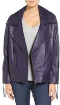 Rebecca Minkoff Women's Brutus Leather Moto Jacket