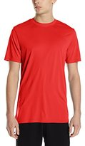 Southpole Men's Basic Athletic Poly SP-Dri T-Shirt In Solid Colors