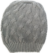 Cruciani cable knit beanie