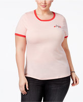 Mighty Fine Trendy Plus Size Slay Graphic T-Shirt
