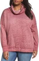Caslon Pleat Back Sweatshirt