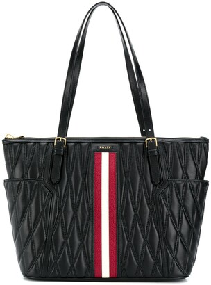 Bally Damirah quilted tote bag