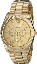 Vernier Women's VNR11169YG Analog Display Japanese Quartz Watch