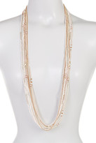 Joe Fresh Multi Row Long Necklace