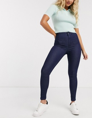 Cotton On Cotton:On Cotton:on High rise jegging in dark rinse-Blue