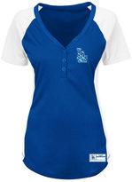 Profile Women's Los Angeles Dodgers League Diva Plus Size T-Shirt