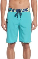 RVCA Men's Scalloped Swim Trunks