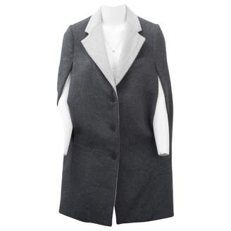 Richard Nicoll Grey Wool Coats