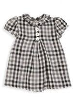 Isabel Garreton Baby's Floral Detailed Gingham Dress