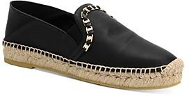 Salvatore Ferragamo Women's Embellished Slip On Espadrille Flats