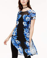 INC International Concepts Printed Tunic Top, Created for Macy's