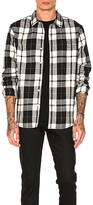 Stussy Norfolk Plaid Button Down in Black. - size S (also in )