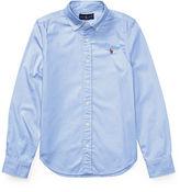 Ralph Lauren 7-16 Cotton Oxford Shirt