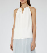 Reiss Roos Chain-Detail Top