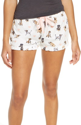 PJ Salvage Dog Print Pajama Shorts