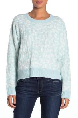 John & Jenn Dolman Sleeve Leopard Print Sweater